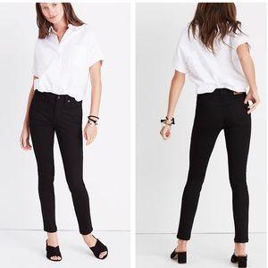 "Madewell 9"" high rise skinny skinny jeans 26 short"